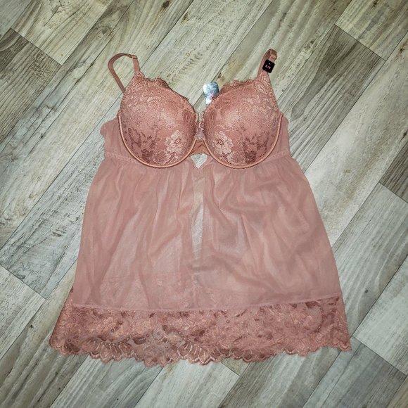 La Senza Nude/Blush Babydoll